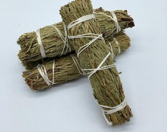 Cedar Smudge Bundle - Sacred Smoke - Natural Smudging Herbs
