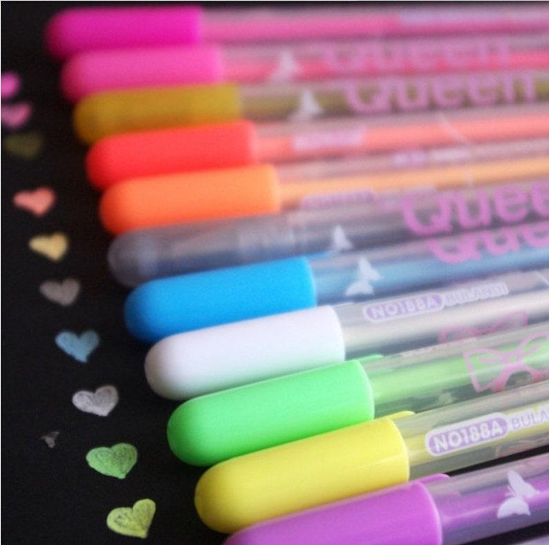 b45fdac1e2852 SALE!!12 color/set HIghlights candy color fluorescent color highlighter  marker pen Liquid Chalk Chalkboard TZ096