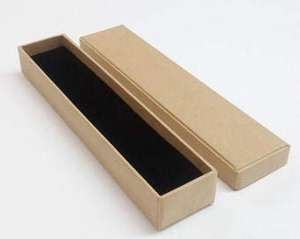 10 x New Necklace Box/ Kraft Necklace Box /blank jewelry box/ Gift Box /Necklace kraft paper boxes TZ746