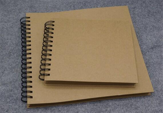 Spirale Lie Vierge Mariage Livre D Or Album Photo De Kraft Album De Photo De La Reliure A Anneaux Scrapbook Album Tz2654