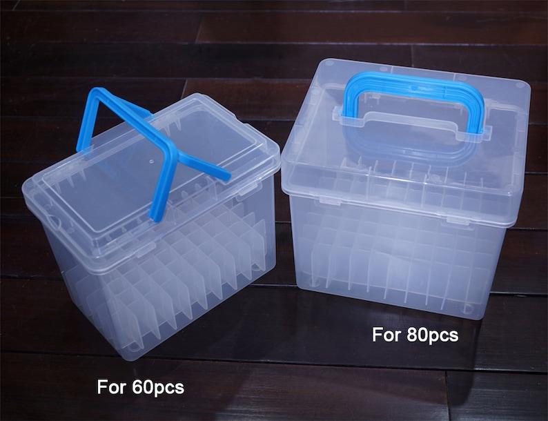 d6fd2b40e824 Plastic Marker pens Storage Case / Sketch marker Organizer / Copic marker  Holder/Touch marker storage and organizer TZ1275