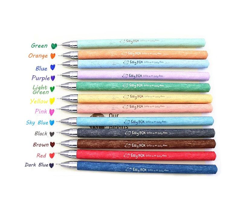 094240c338722 Gel Pens 12 Colors Premium Professional Gel Color Pens 0.33mm TZ419