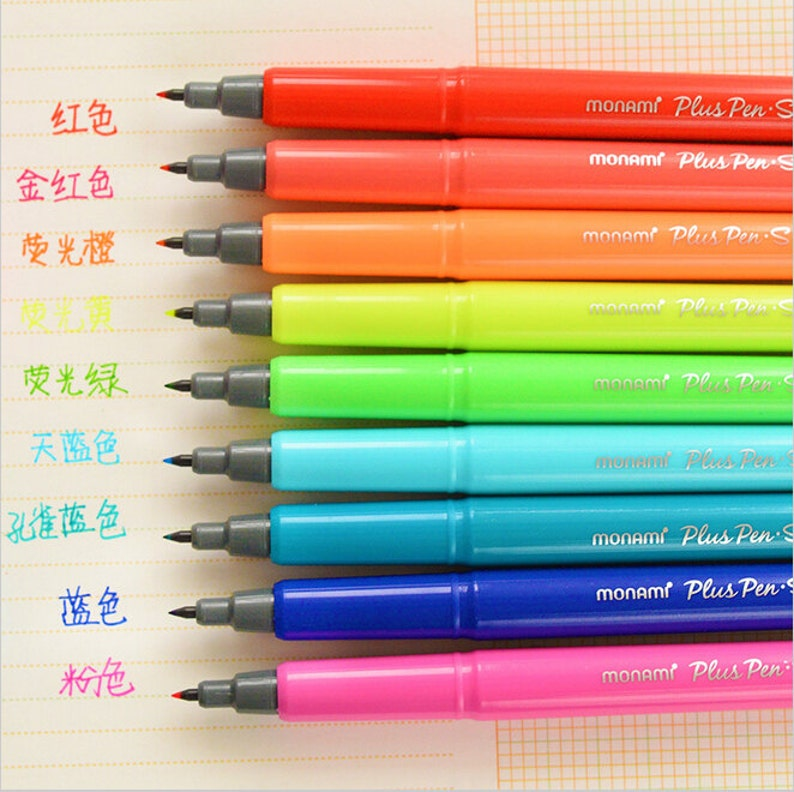 f044c180e23d2 Water color gel pen 0.3mm Microfiber point highlighter pens Drawing marker  Office accessories For Scrapbooking Decoration TZ102