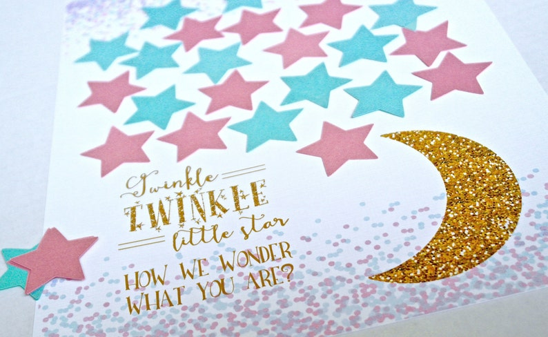 Gender Reveal Party Gender Reveal Gender Reveal Games Gender Reveal Decorations Baby Shower Guestbook Baby Shower Guest Sign In