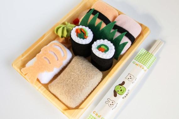 Felt Food Toys R Us : Pretend play felt food sushi playset roll rice