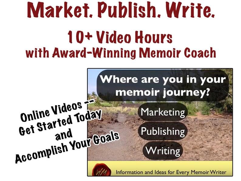 NEW Online Memoir Instructional Videos to Write Publish image 0