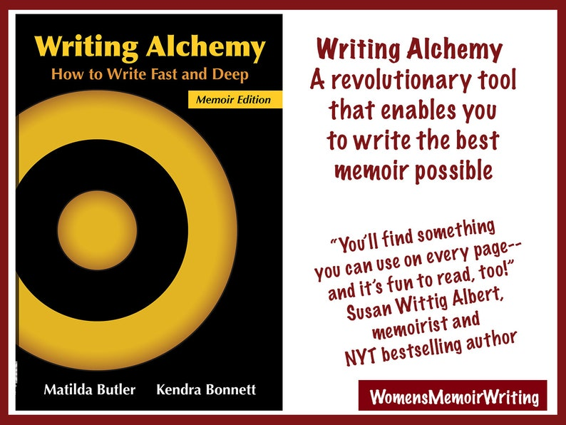 WRITING ALCHEMY: How to Write Fast and Deep the Standard for image 0