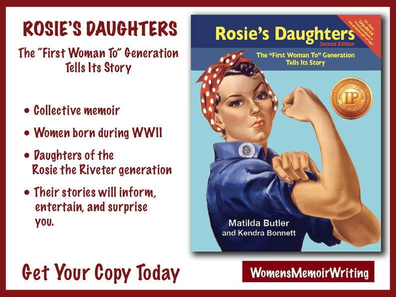 SPECIAL-Autographed copy of Rosie's Daughters: The image 0