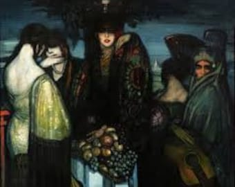 Las Ibéricas by Federico Beltran Masses Home Decor Wall Decor Giclee Art Print Poster A4 A3 A2 Large Print FLAT RATE SHIPPING