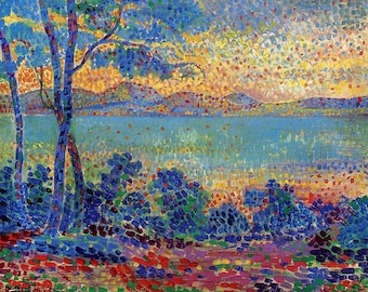 Provence Landscape by Henri-Edmond Cross