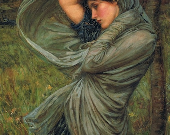 Boreas by John William Waterhouse
