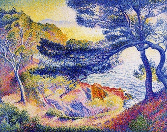 Cape Layet, Provence by Henri-Edmond Cross