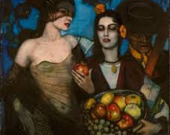 Granada  by Federico Beltran Masses Home Decor Wall Decor Giclee Art Print Poster A4 A3 A2 Large Print FLAT RATE SHIPPING