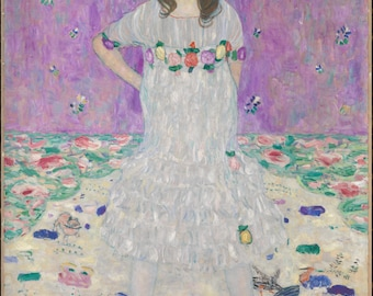 Mada Primavesi by Gustav Klimt Home Decor Wall Decor Giclee Art Print Poster A4 A3 A2 Large Print FLAT RATE SHIPPING