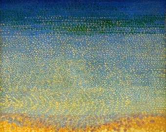 The Iles d'Or (The Iles d'Hyeres, Var) by Henri-Edmond Cross