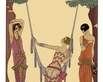 L'Ete (Summer) by George Barbier