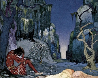 Violette Consented Willingly to Pass the Night in the Forest by Virginia Frances Sterrett