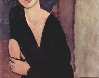 Portrait of Madame Reynouard by Amedeo Modigliani