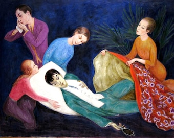 The Dying Dandy by Nils Von Dardel