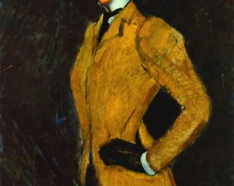 The Amazon by Amedeo Modigliani