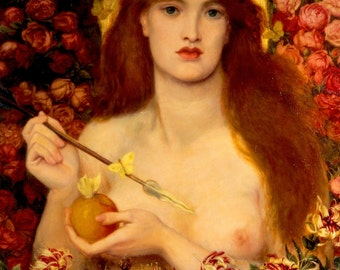 Venus Verticordia by Dante Gabriel Rossetti Home Decor Wall Decor Giclee Art Print Poster A4 A3 A2 Large Print FLAT RATE SHIPPING