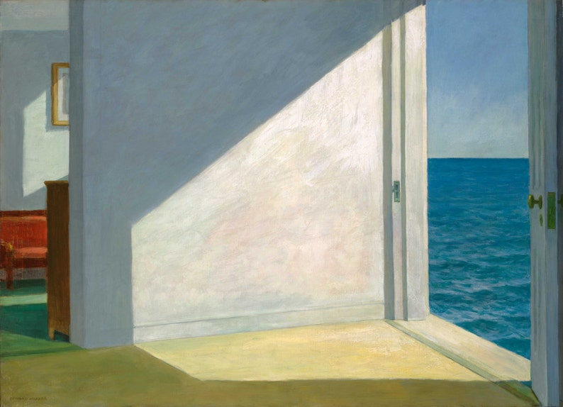 940a9e07e9eaa Habitaciones junto al mar por Edward Hopper Home Decor pared