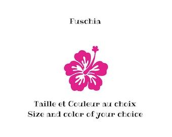 Thermocollant Fleur Hibiscus Etsy
