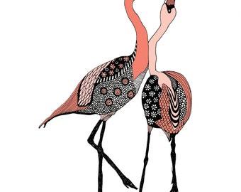 Flamingo Artprint