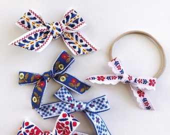 Americana // Hand-Tied Ribbon Bows