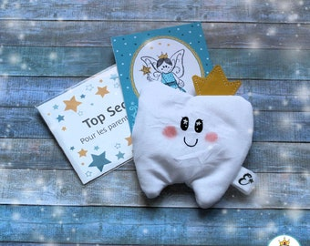 Magic Pocket of the Tooth Fairy for a Child - Fairy Pocket of Sparks Teeth and I Handmade in Quebec with Love