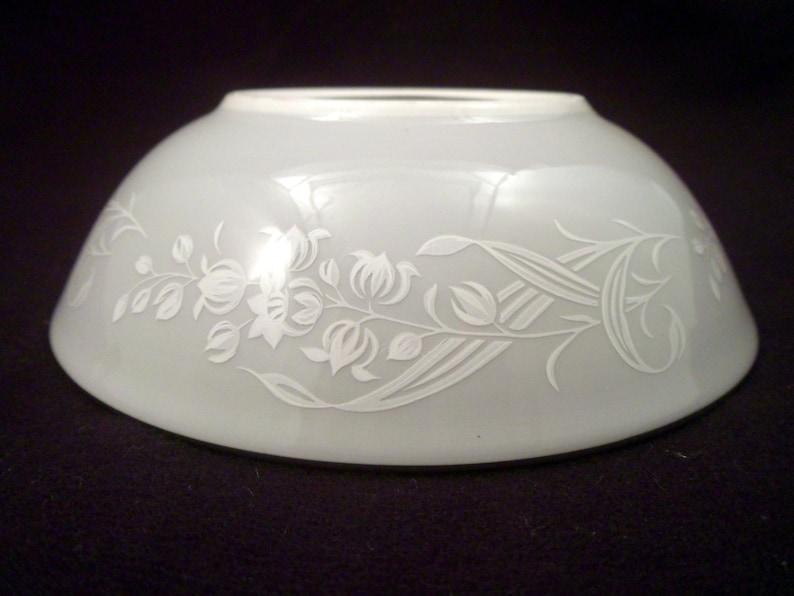 Vintage Platinum Rim Royal Doulton Valleyfield Bone China Berry Bowl