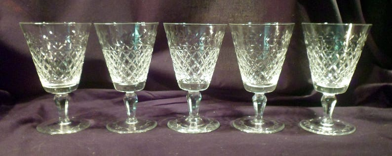 Other Bohemian/czech Art Glass Conscientious Bohemian Cut-to-clear Green Bowlgoblet W Clear Stem