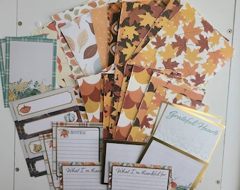 Scrap Papers - Fall / Thanksgiving Theme