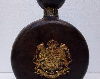 Leather bound bottle | Etsy