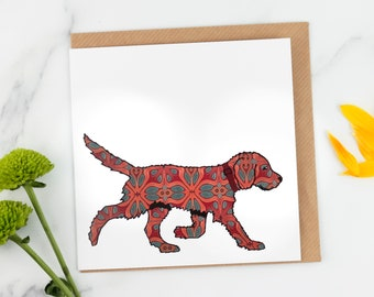 Choice of Chocolate Labrador Dog Puppy Designs Birthday Cards Fast Freepost!