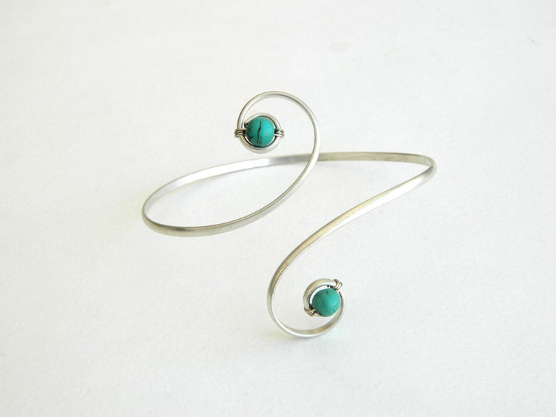 turquoise Upper Arm Bracelet arm bracelet bracelet turquoise bracelet Upper Arm Cuff Bracelet with stones Arm Bracelet turquoise