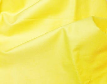 FLOWING YELLOW CANARY 55/150 CM END TWILL COTTON SATEEN