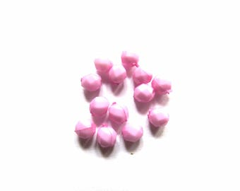 ROUND BEADS 12 MM LILAS4 NACKLACE
