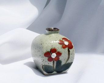 Stoneware Weed Pot Bud Vase Otagiri