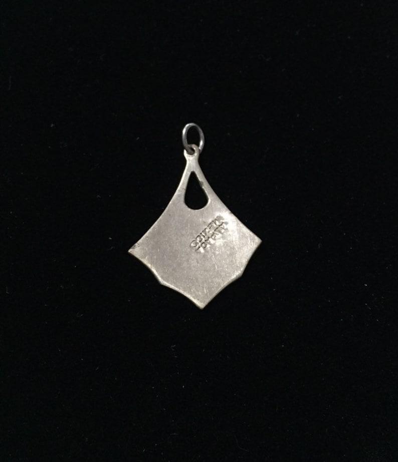 Alpaca Silver Pendant