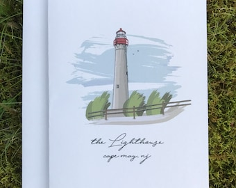 Cape May Lighthouse 5x7 Card