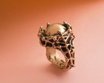ROMAN style- seal ring / bronze