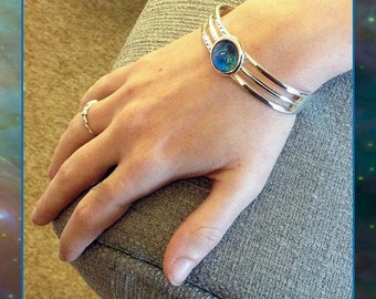 Orion Nebula bangle With high res. Photo Gift Card.