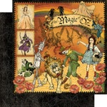NOW SHIPPING!! Graphic 45 Magic of Oz Collection Pack SC007876