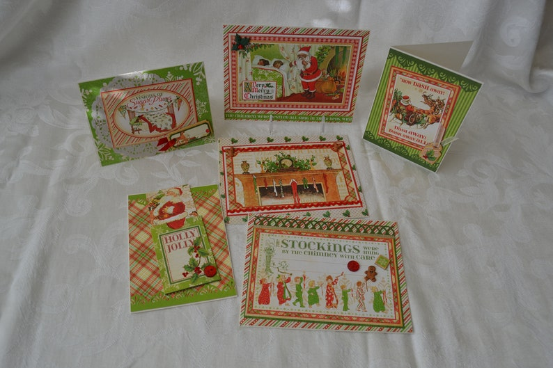 Handmade Christmas Cards Graphic 45 Holly Twas The Night image 0