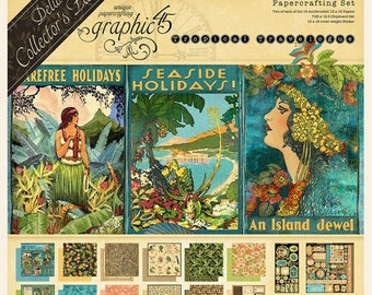 Graphic 45 Tropical Travelogue Deluxe Collector's Edition, SC007793