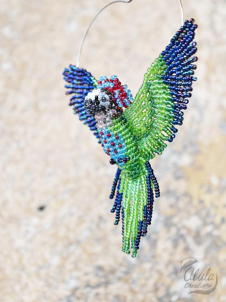 Falco Di Suncatcher Testa Ebodcx Pappagallo Ornamentoetsy nOw0Xk8P