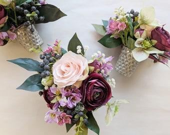 Wedding Centerpiece Silk Flower Etsy