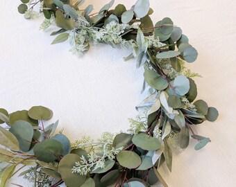Eucalyptus Garland, Flower Garland, Wedding Flowers, Silk Flowers, Floral Garland, Wedding Garland, Garland, Silk Flower Garland
