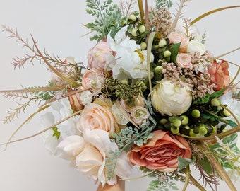 Wedding Bouquet, Wedding Flowers, Silk Flower Bouquet, Silk Flowers, Bouquet, Flower Bouquet, Bridal Bouquet, The Faux Bouquets